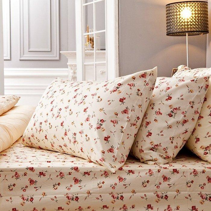 (預購)床包被套組 / 單人-100%精梳棉【田園童話】含一件枕套,戀家小舖,台灣製-AAS112