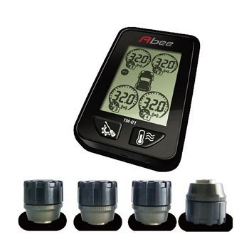 熊寶寶汽材快譯通 Abee TM-01 胎外型胎壓監測系統(TM-01X-胎外式)特價2890含運