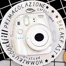 BaiBaiCamera 富士 透明 mini8 mini 8 水晶殼 保護殼 透明殼 另空白底片 保護套 皮套 相機包