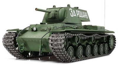 【TAMIYA 56028】1/16 蘇聯 重戰車 KV-1 遙控聲光版 套件