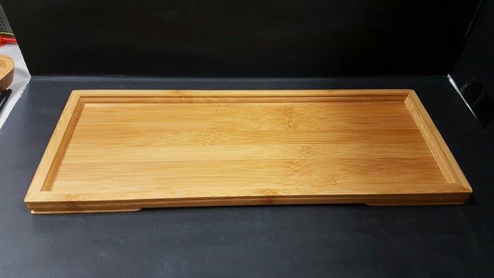 【無敵餐具】竹製茶端盤(37x14.3x1.8cm)平面竹端盤/日式餐廳/茶盤/竹製 來電獨享驚喜價!【S0071】
