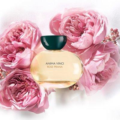 Anima Vinci Rose Prana 普拉那玫瑰 100ml EDP 國外代購 水潤粉紅玫瑰帶綠意