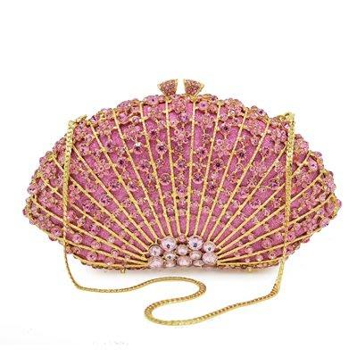 晚宴 包 鑲鑽手拿包-高貴閃耀奢華時尚女包包2色73su19[獨家進口][米蘭精品]