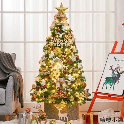 聖誕樹 聖誕裝飾 150cm圣誕樹裝飾套餐2.1米歐式金色系套餐裝飾圣誕樹裝飾品全館免運價格下殺