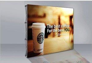 布拉網_易拉網展示架豪華4*3直式(無包邊含大圖輸出)展架新品上市優惠