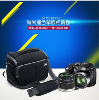 🎉免運特價✨新款輕量單眼攝影包 佳能單眼相機包 索尼 側背包-黑色大號款 台中市