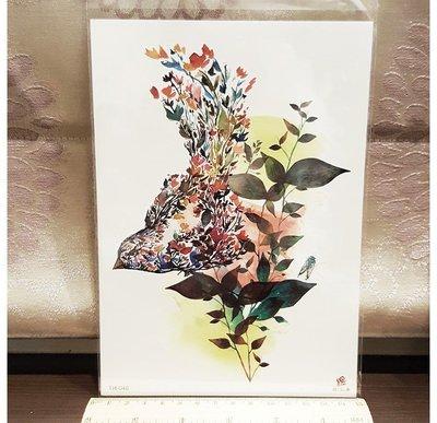 【萌古屋】鳥與花草 - 男女防水紋身貼紙刺青貼紙TH-048