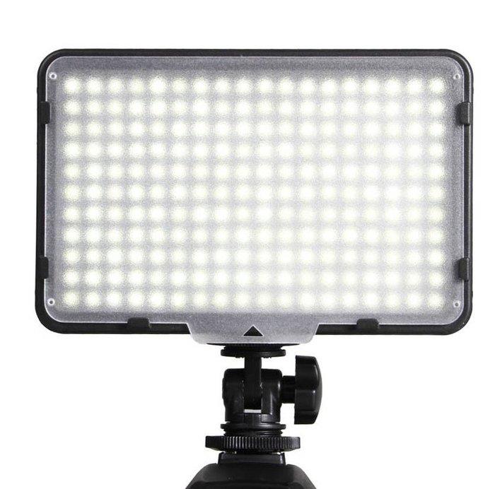 呈現攝影-Phottix VLED Video LED燈 260A 260顆 攝影燈 錄影燈 多種電力 婚禮記錄 色溫片