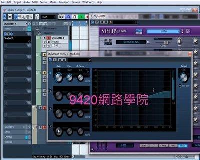 【9420-8012】Cubase 5 /Logic Pro9/效果器/軟體樂器/混音 電腦音樂  教學影, 320元!