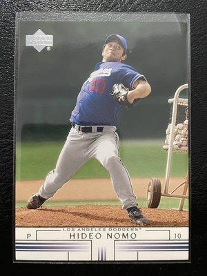 野茂英雄 Hideo Nomo 2002 UD #668