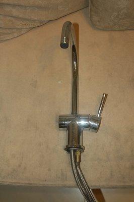 鵝頸龍頭 淨水器龍頭 濾水器龍頭  不銹鋼龍頭 鵝頸廚房立式水龍頭