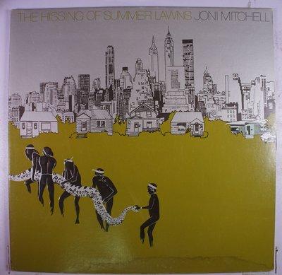 《二手美版黑膠》Joni Mitchell - The Hissing Of Summer Lawns