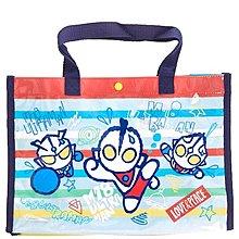 *小栗鼠散步鋪*日本帶回 Q版 超人力霸王 鹹蛋超人 奧特曼 -1 手提袋 側背包 戲水 外出 上課