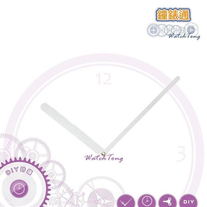【鐘錶通】J118088 白色指針 / 分針11.8公分 時針8.8公分/DIY時鐘掛鐘鐘針/ SKP壓針機芯專用指針