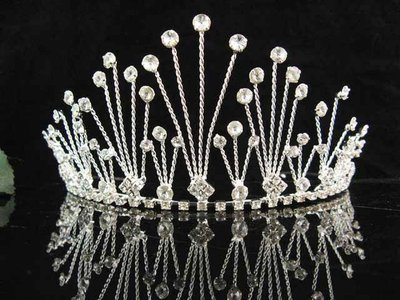 結婚飾物;結婚頭飾;新娘婚禮頭飾;新娘頭飾;婚禮皇冠; BRIDE BAND;BRIDAL HEADPIECE;WEDDING TIARA COMB #2490