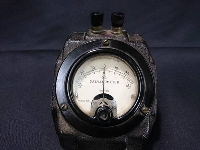 *阿柱的店*Weston D.C Galvanometer Model 375 檢流計/安培/電錶