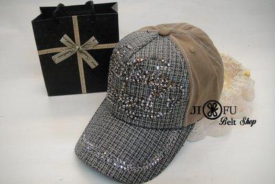 現貨供應*JIFU 鉅釜皮件*帽子*棒球帽 潮帽(黑色 )(W127)