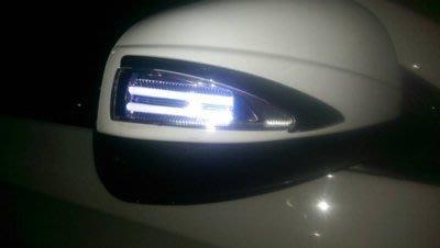 納智捷 LUXGEN URX U6 全系列專用 LED 改裝後視鏡蓋 多功能後視鏡  定位燈/方向指示燈  白色  特價