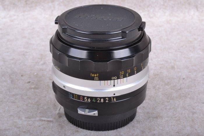 【台中品光攝影】NIKON Non-AI 50mm F1.4 標準定焦 大光圈人像 手動 FH#57706J