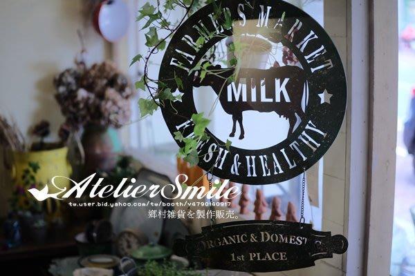 [ Atelier Smile ] 鄉村雜貨 美式鄉村 鏤空英文復古裝飾掛牌 農場花園掛牌 拍攝道具 (現+預)