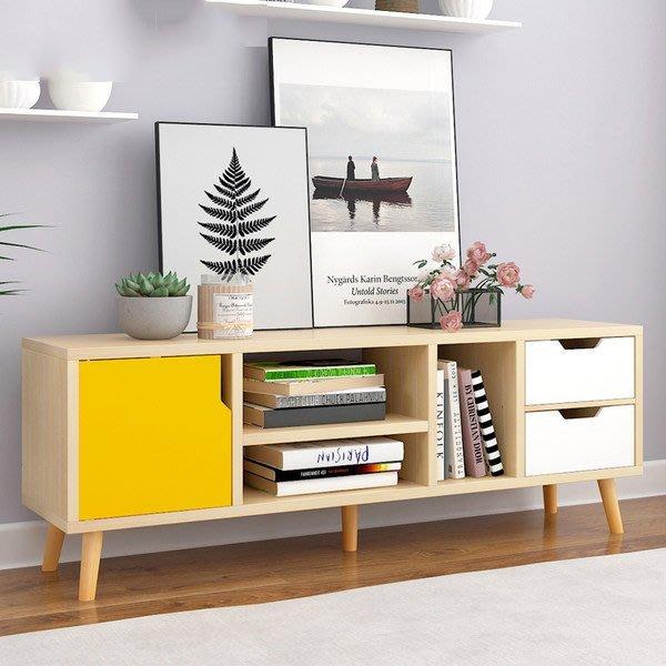(限宅配)快樂生活網《YV9760》北歐風電視櫃 組合收納櫃 電視櫃 視聽櫃