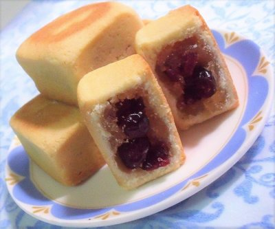 蔓越莓鳳梨酥 9入禮盒(大顆50g)~滿千免運,中秋月餅禮盒╭ 蓁橙烘焙 ╮