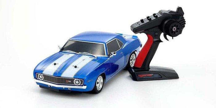 大千遙控模型  京商1/10EP FAZER 1969雪佛蘭卡瑪洛Z/28 電動競速車RTR #34418T1