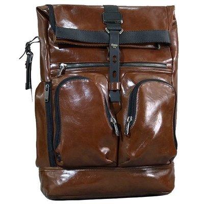皮藏客 TUMI/途米 JK431 男女款 休閒商務雙肩包 進口真皮牛皮 旅行後背包 電腦包 內置19寸筆記本隔層