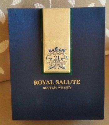 21 Years Royal SaluteBlended Scotch Whisky蘇格蘭威士忌酒正版精裝硬包裝盒