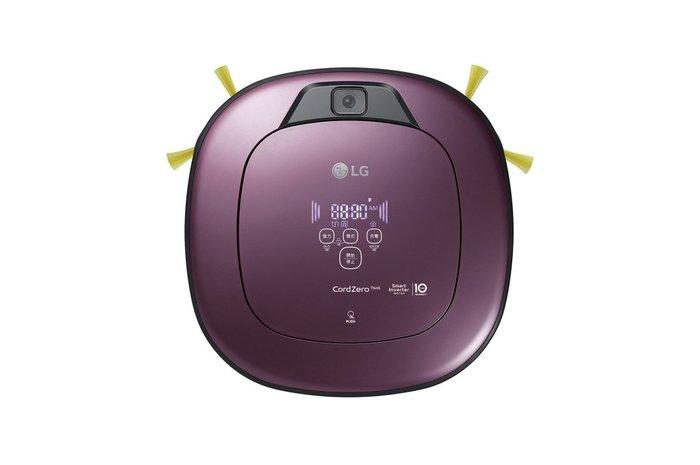 【棋杰電器】LG VR6690TWVV(迷幻紫) CordZero™ WiFi濕拖清潔機器人-雙眼 【☎ 來電享優惠】