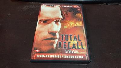 R01《好書321KB》【CD / DVD】Total Recall -魔鬼總動員-阿諾史瓦辛格+莎朗史東 雙碟