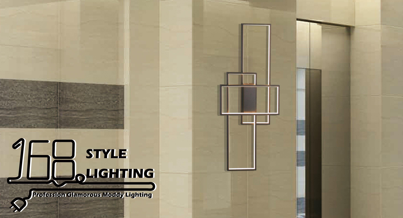 【168 Lighting】幾何線條《LED壁燈》AX 81138-2