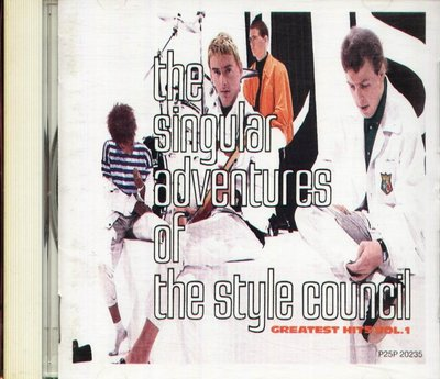 K - The Style Council - The Singular Adventures Of  - 日版 CD