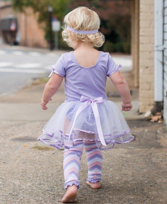 ❤Shopaholic❤美國RuffleButts 芭蕾舞伶蓬裙短袖洋裝 薰衣草紫款 現貨