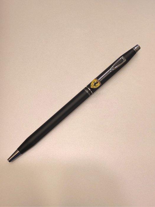 cross 高仕 法拉利黑色原子筆