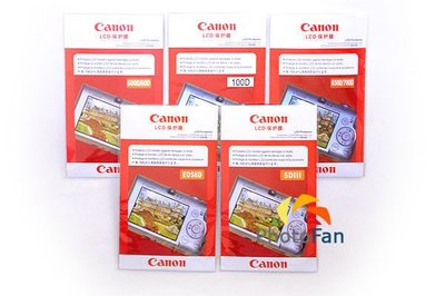 ☆PhotoFan☆Canon 650D/700D/750D/760D/800D 副廠螢幕保護貼  6.7*4.6公分