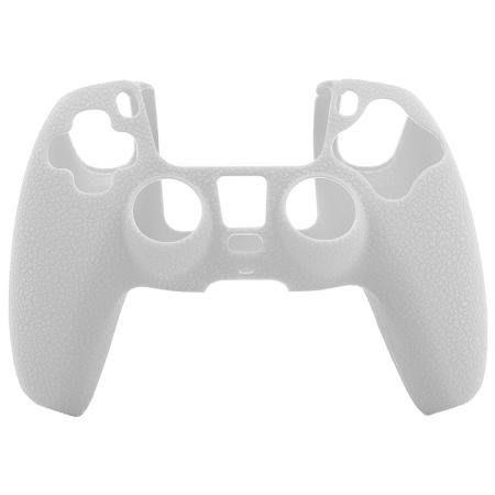 [哈GAME族] PS5手把矽膠果凍套 矽膠保護殼 帶防滑顆粒 黑色/白色/紅色/藍色
