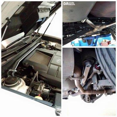 『通信販售』D.R DOME RACING LEGACY OUTBACK BR9 BM 引擎室拉桿 前上拉 高強度