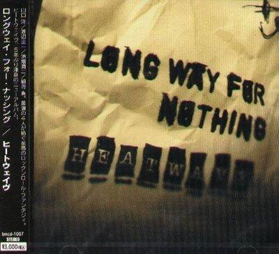 (甲上唱片) HEATWAVE - LONG WAY FOR NOTHING - 日盤