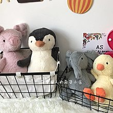 INS超紅的粉色少女心企鵝小豬丑萌公仔毛絨玩具女生可愛小號玩偶