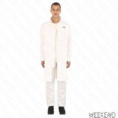【WEEKEND】 C2H4 Workwear Chemist 化學製品 長版 外套 夾克 白色