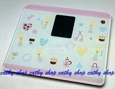 *凱西小舖*日本進口正版le sucre法國兔體重計