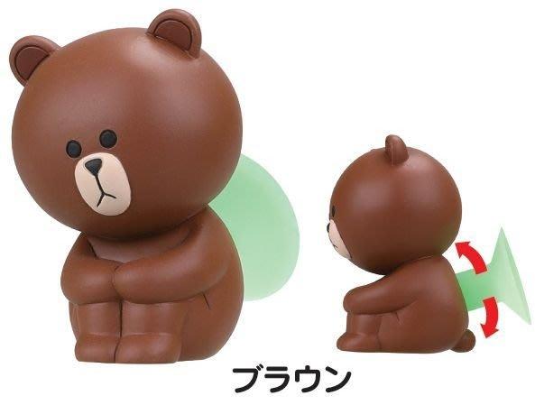 【動漫瘋】轉蛋 扭蛋 LINE 辦公事小物 1代 單售 熊大 手機支撐架 公仔
