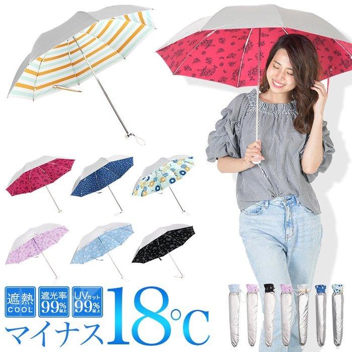 《FOS》日本 遮光率99% 抗UV 折傘 晴雨傘 陽傘 雨傘 摺疊傘 防曬 UPF50+ 紫外線 輕量 夏天 熱銷