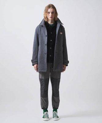 【傑森精品】法國工裝Vincent et Mireille聯名款 厚實保暖 麥爾登羊毛呢 中長款 巴爾瑪大衣 外套