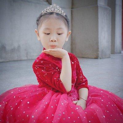13現貨[台灣發貨]韓國兒童皇冠新娘王冠發飾發帶公主發箍女童髮卡寶寶水鑽發梳飾品款大人兒童通用