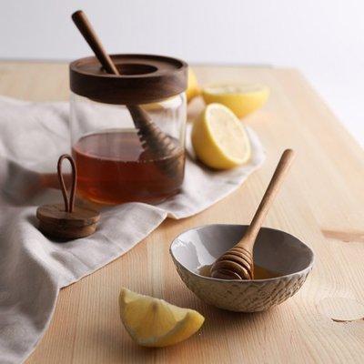 【YOI】CHABATREE CYNOSURE HONEY JAR 325CC 蜂蜜罐 ACACIA (ST006H)