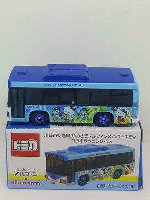 【多美 Tomica】 日本帶回 2018年11月  tomica 川崎市交通局 Hello Kitty 巴士