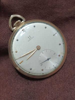 OMEGA 黃K金機械懷錶ROLEX AP IWC LONGINES ORIS EPOS RADO一元起標GP更多瑞士錶