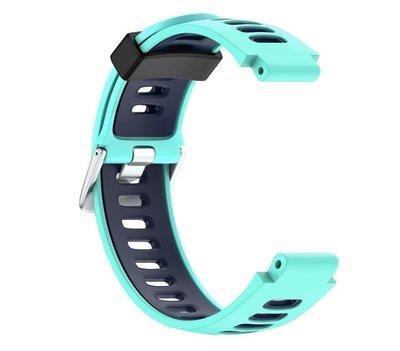 【現貨】ANCASE Garmin Approach S6 S20 雙色錶帶高爾夫版矽膠軟膠錶帶